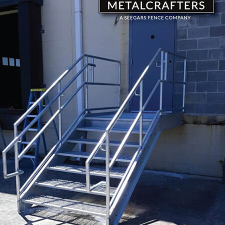 Metalcrafters Loading Dock Stairs