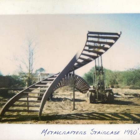 1980's Metalcrafters Staircase