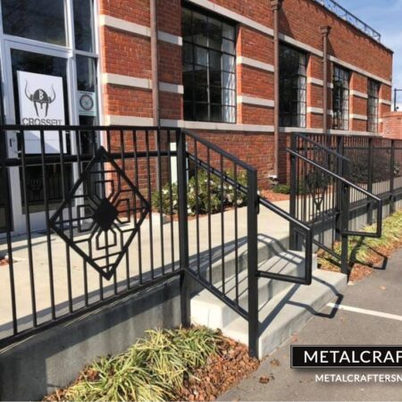 Custom Commercial Railing